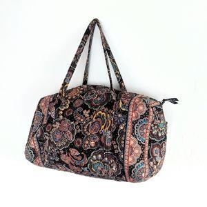 Vera Bradley Large Duffel Weekender Travel Bag